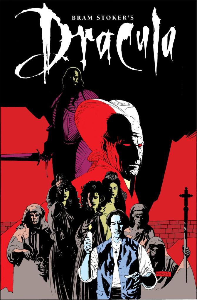 Dracula komiks - okładka