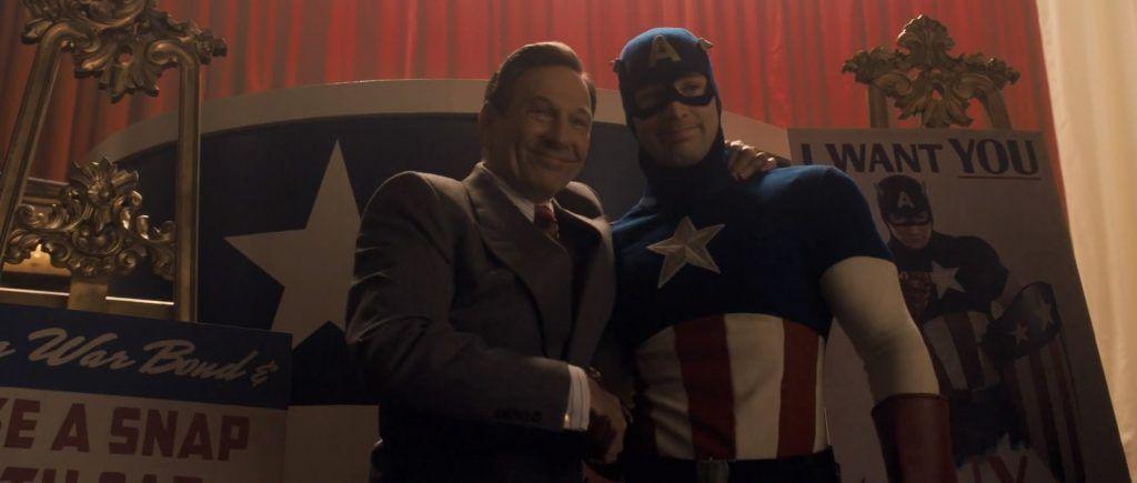 Kapitan Ameryka: Pierwsze starcie – reż. Joe Johnston
