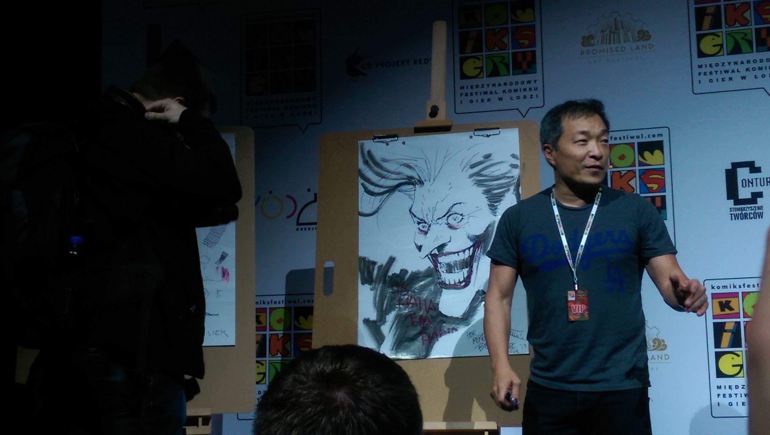Relacja z konferencji i spotkania z Jimem Lee