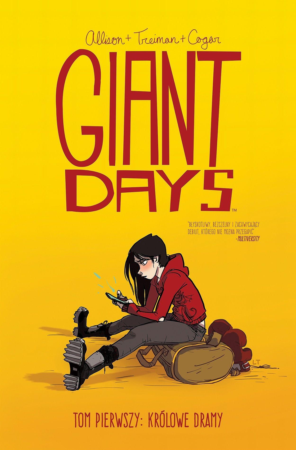 Recenzja: Giant Days 1 Królowe Dramy