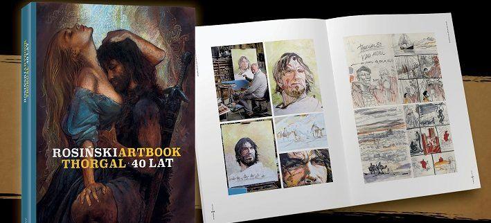 Artbook Rosińskiego na 40-lecie Thorgala!
