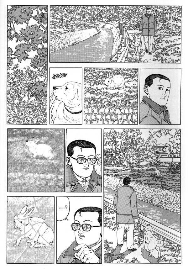 Idący człowiek - rys. Jiro Taniguchi