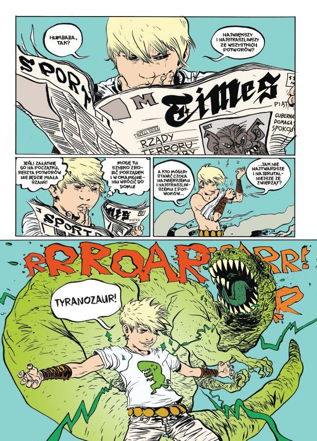 Battling Boy - rys. Paul Pope