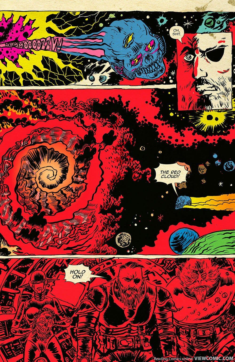Space Riders - rys. Alexis Ziritt
