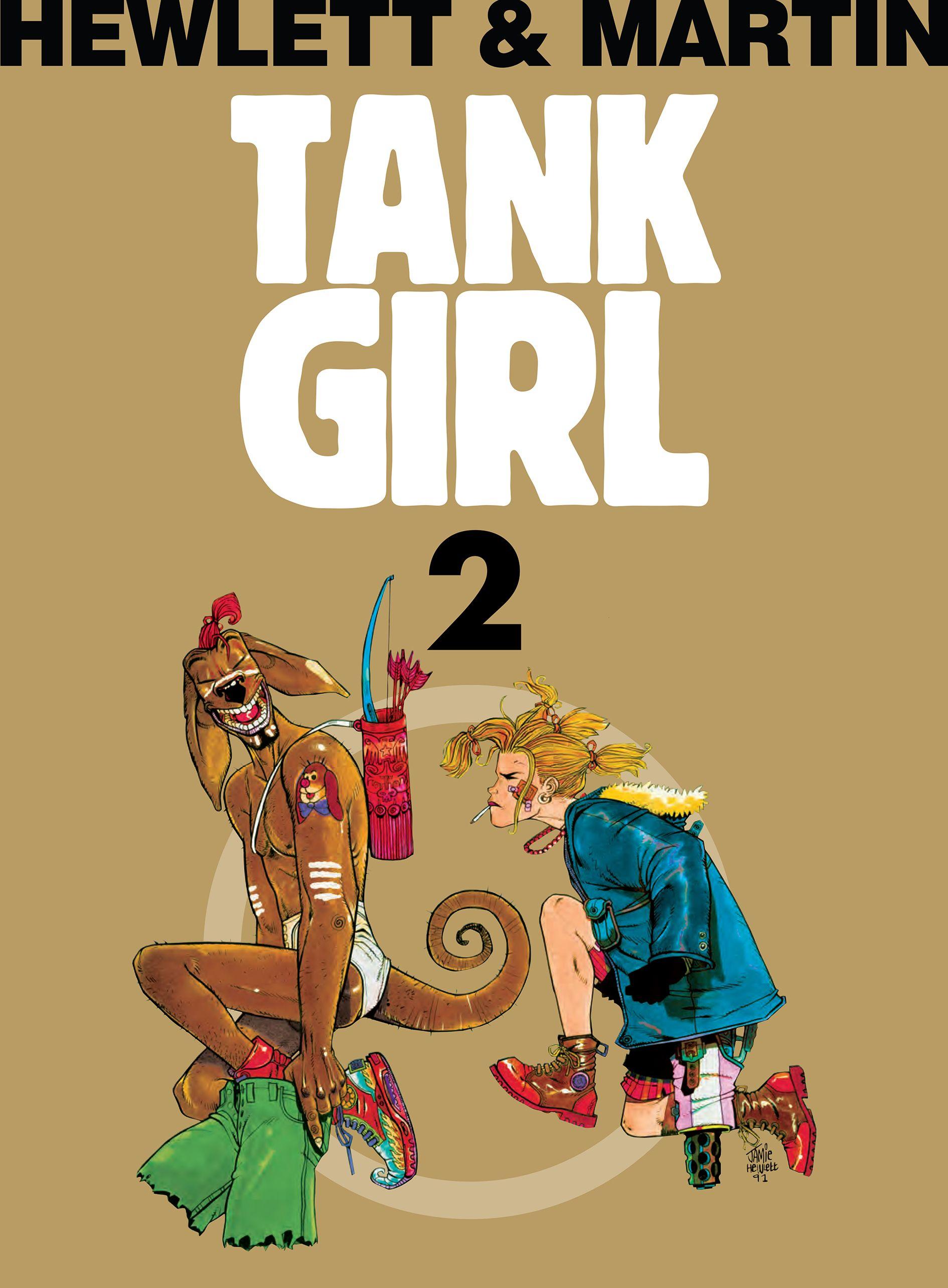 Tank Girl: Tom 2 – Recenzja