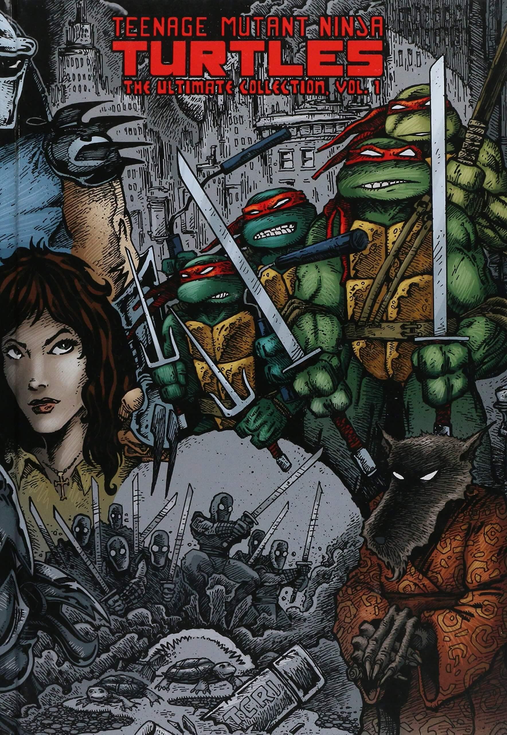 Wojownicze Żółwie Ninja Ultimate Collection tom 1 – recenzja