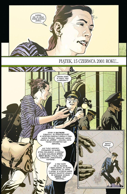 Ex Machina - rys. Tony Harris