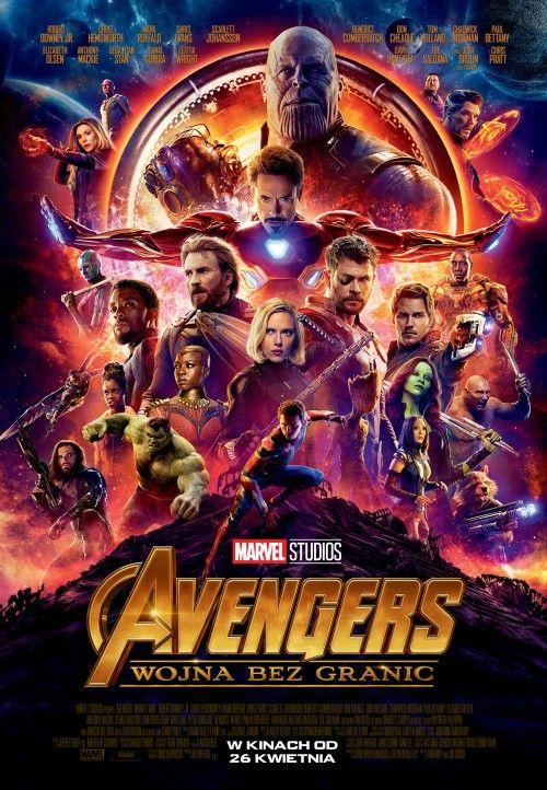 """Avengers: Wojna bez granic"" - plakat filmu"