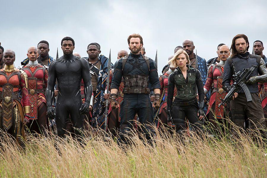 """""""Avengers: Wojna bez granic"""" - scena z filmu"""