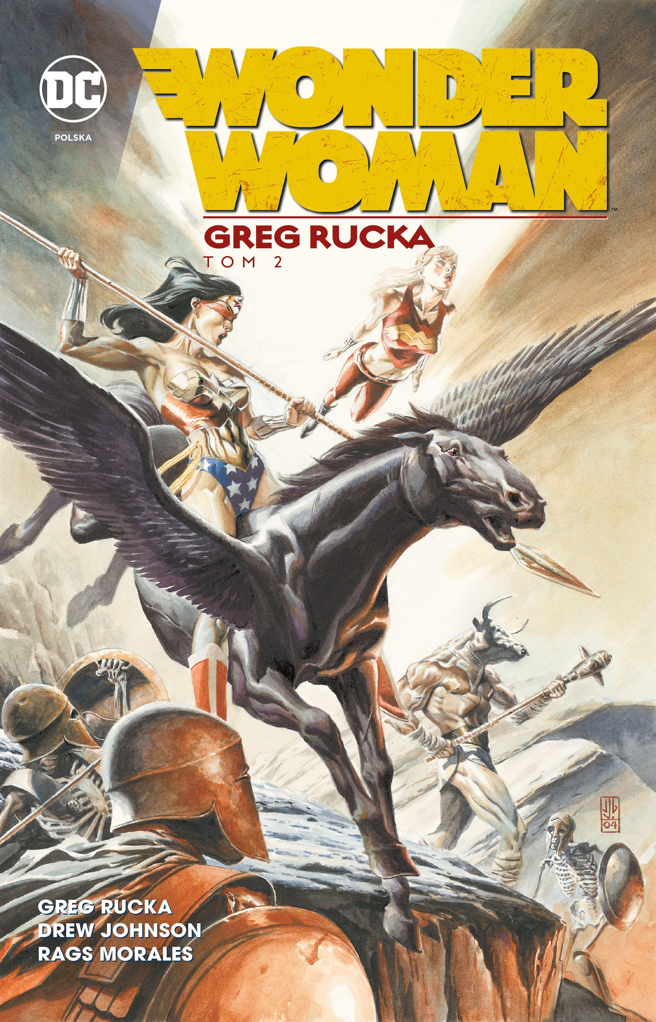DC Deluxe – Wonder Woman Greg Rucka – tomy 1-2 – recenzja