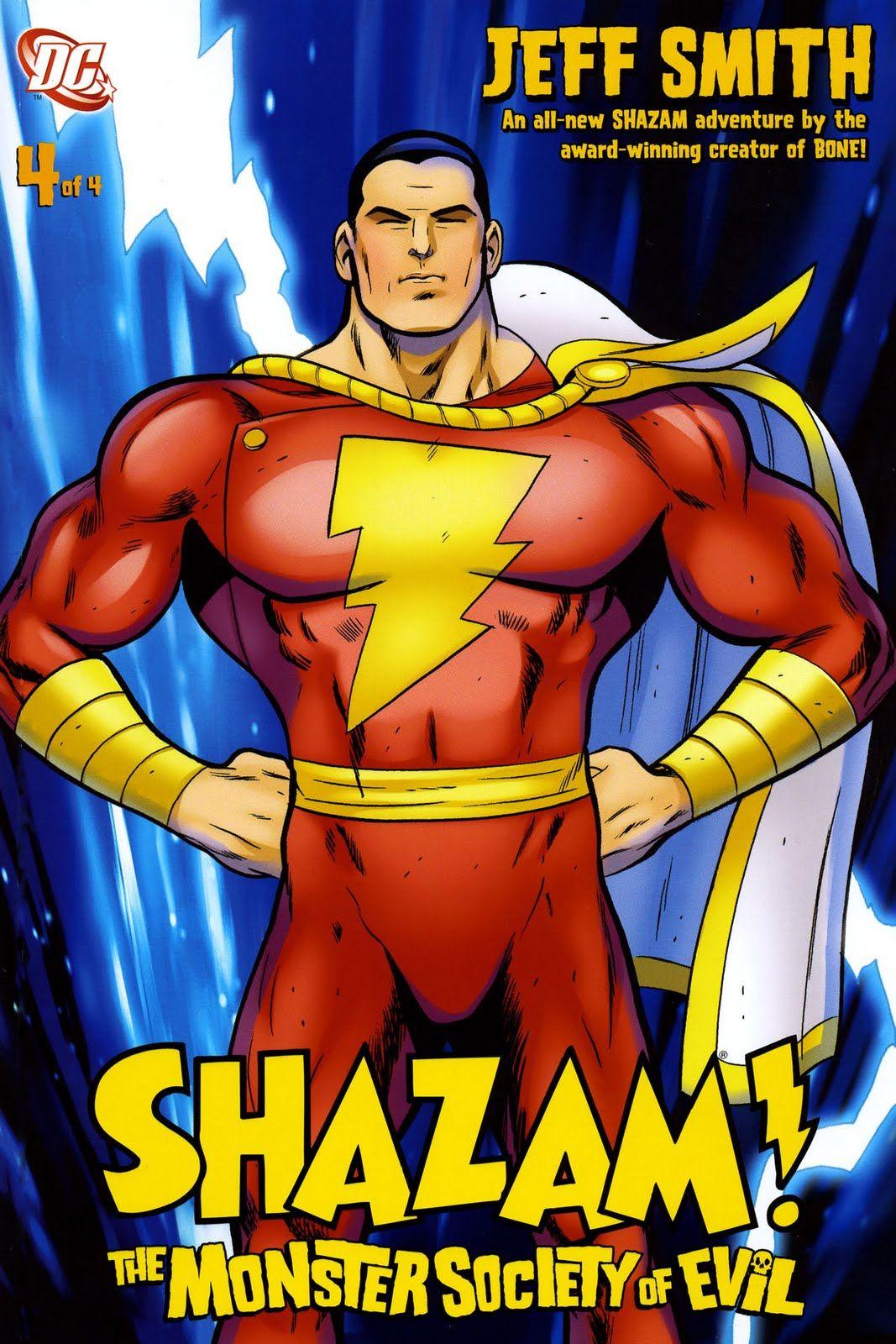 Shazam! - rys. Jeff Smith