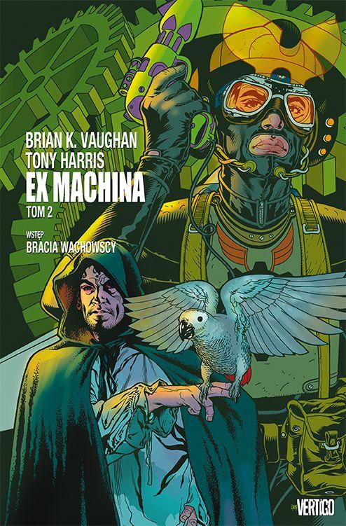 Ex Machina - okładka tomu drugiego