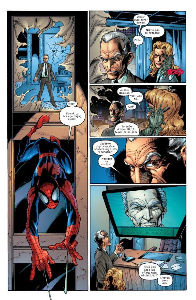 Ultimate Spider-Man tom 2 - przykładowa plansza