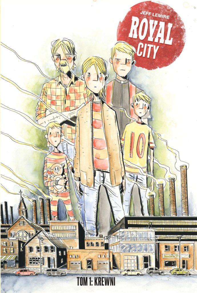 Royal City - okładka