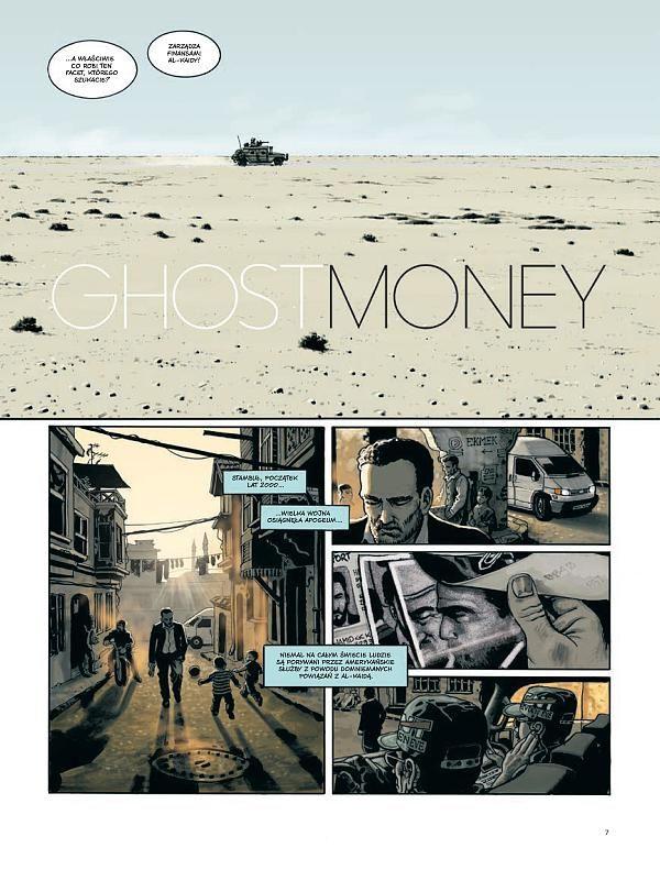 ghost money - przykładowa plansza
