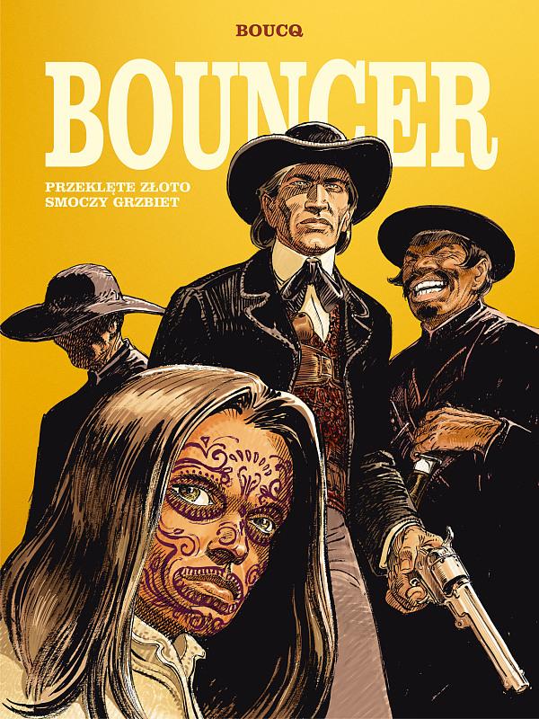 Bouncer - okładka