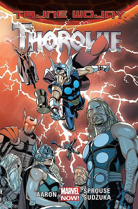 Tajne wojny. Thorowie - okładka