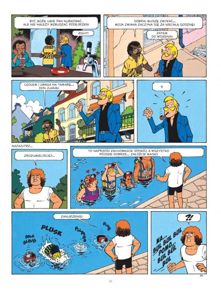 Clifton i nauka nurkowania