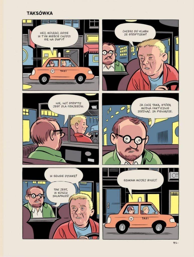 Wilson - rys. Dan Clowes