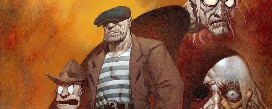 "Bohaterowie komiksu ""The Goon"""