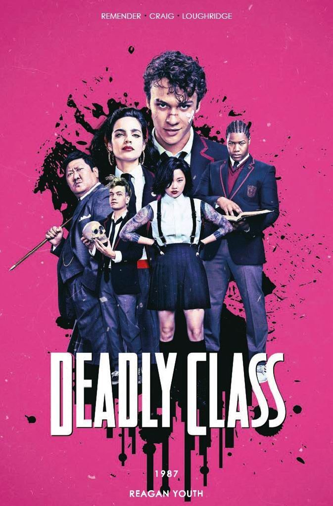 Deadly Class - tom 1 - okładka filmowa