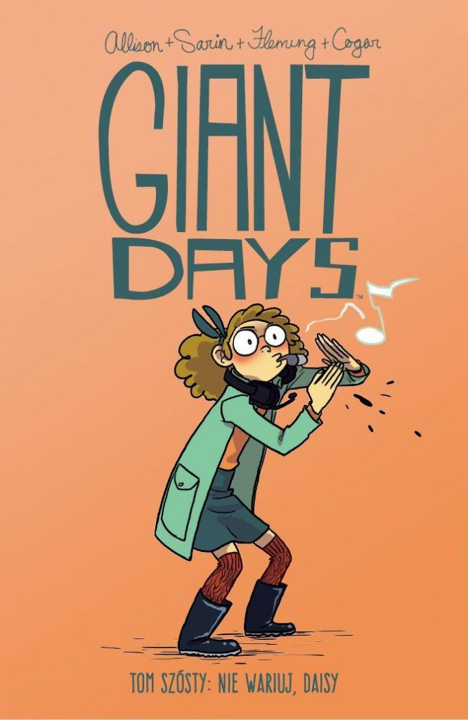 Giant Days tom 6 - okładka