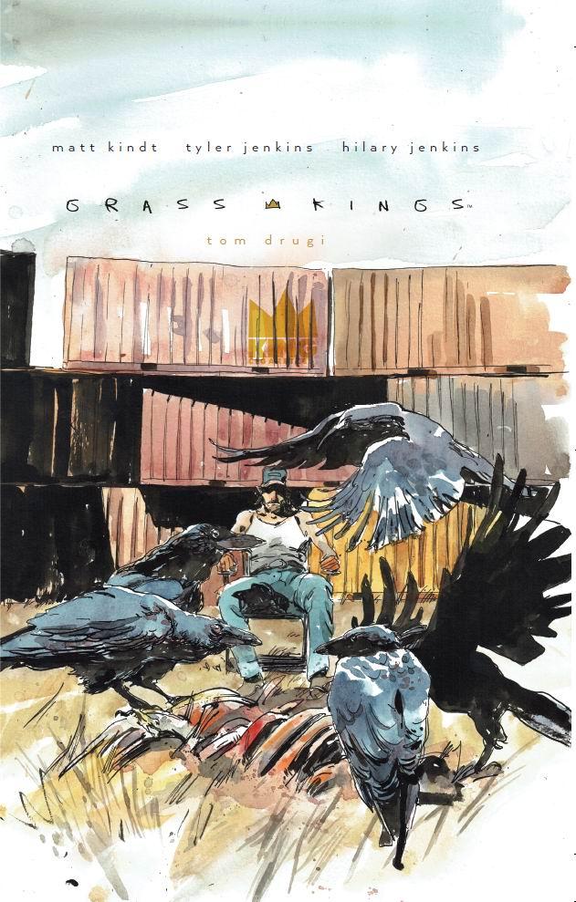 Grass Kings - tom 2 - okładka
