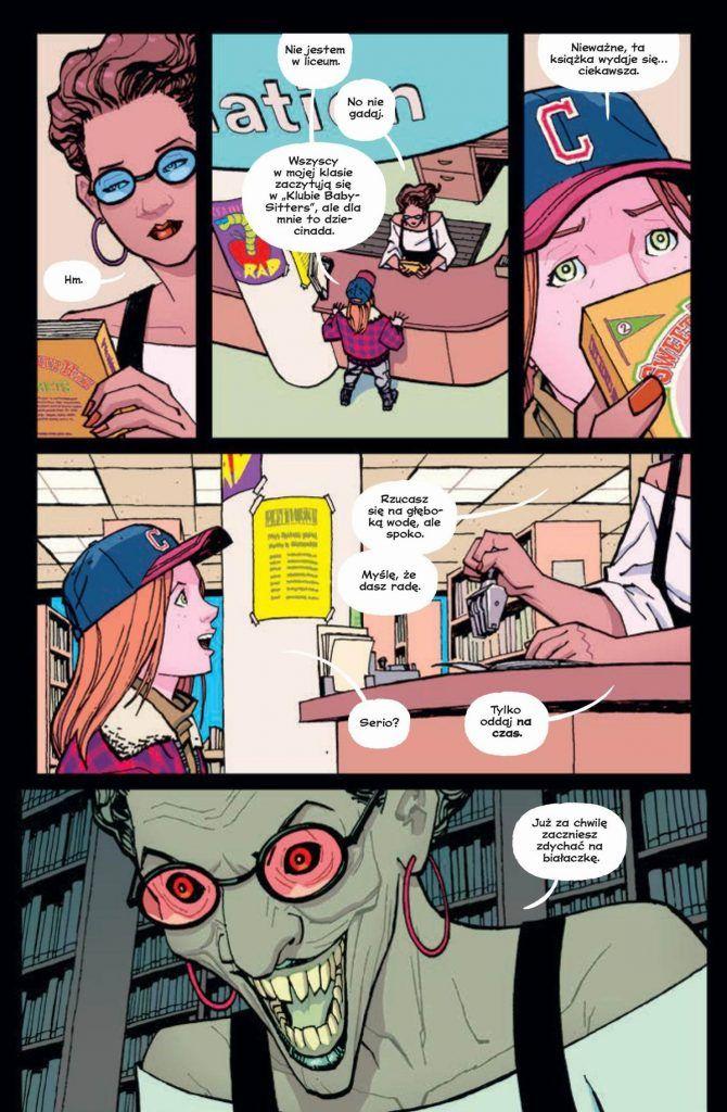 Paper Girls - tom 5 - przykładowa plansza