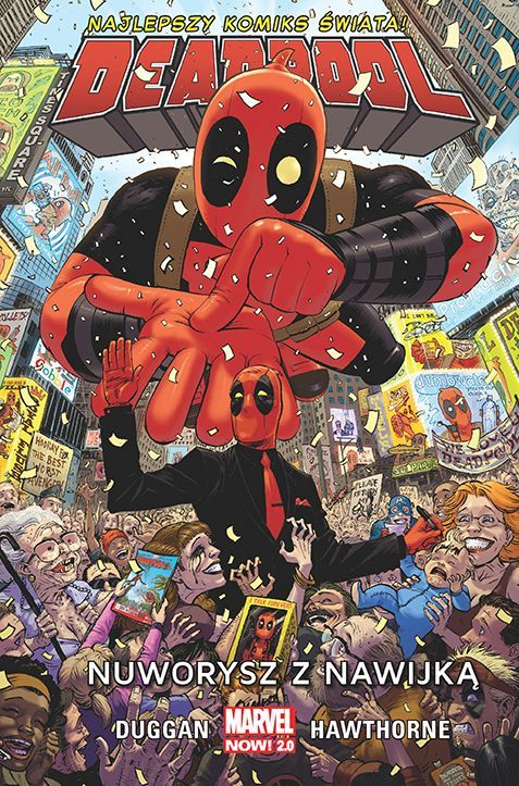 Deadpool - Nuworysz z Nawijką Okładka