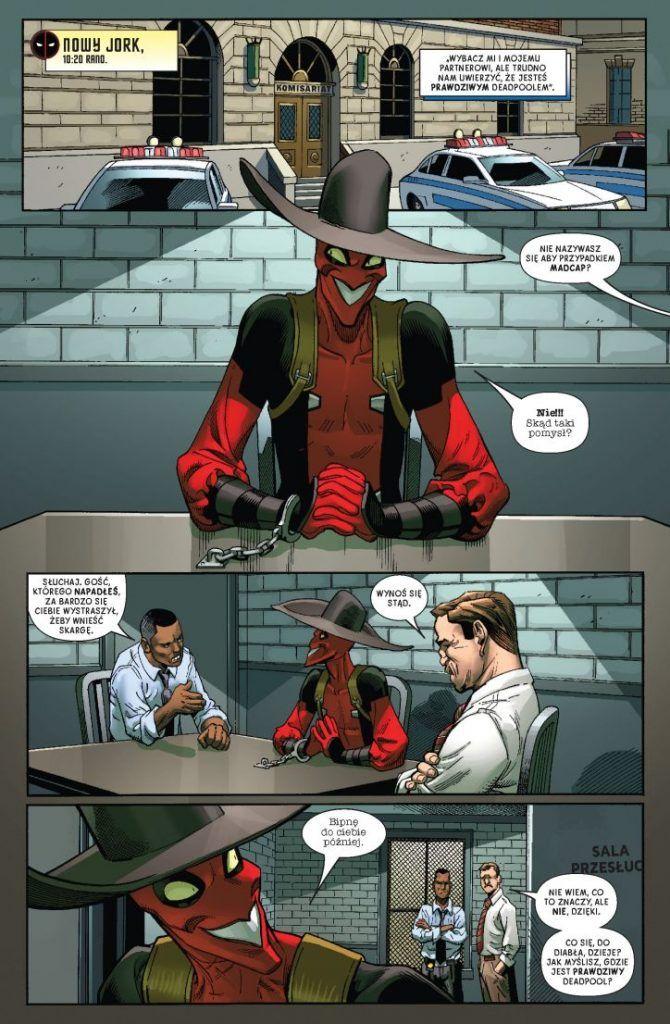 Deadpool - Nuworysz z Nawijką Plansza Przykładowa