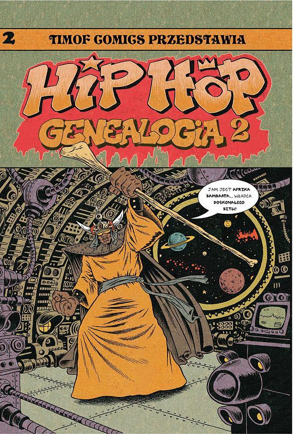Hip hop genealogia - rys. Ed Piskor