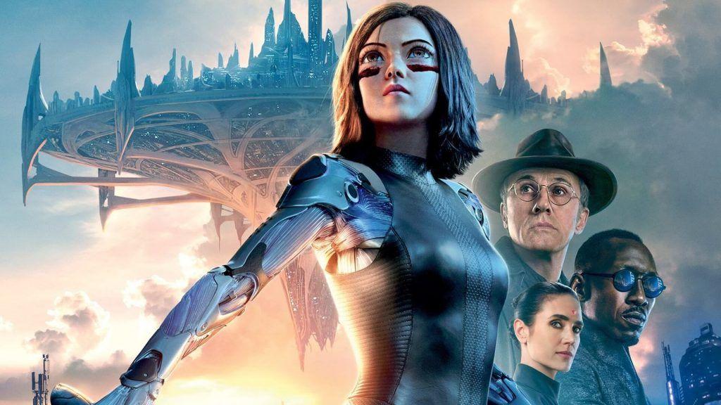 Alita: Battle Angel - plakat filmu