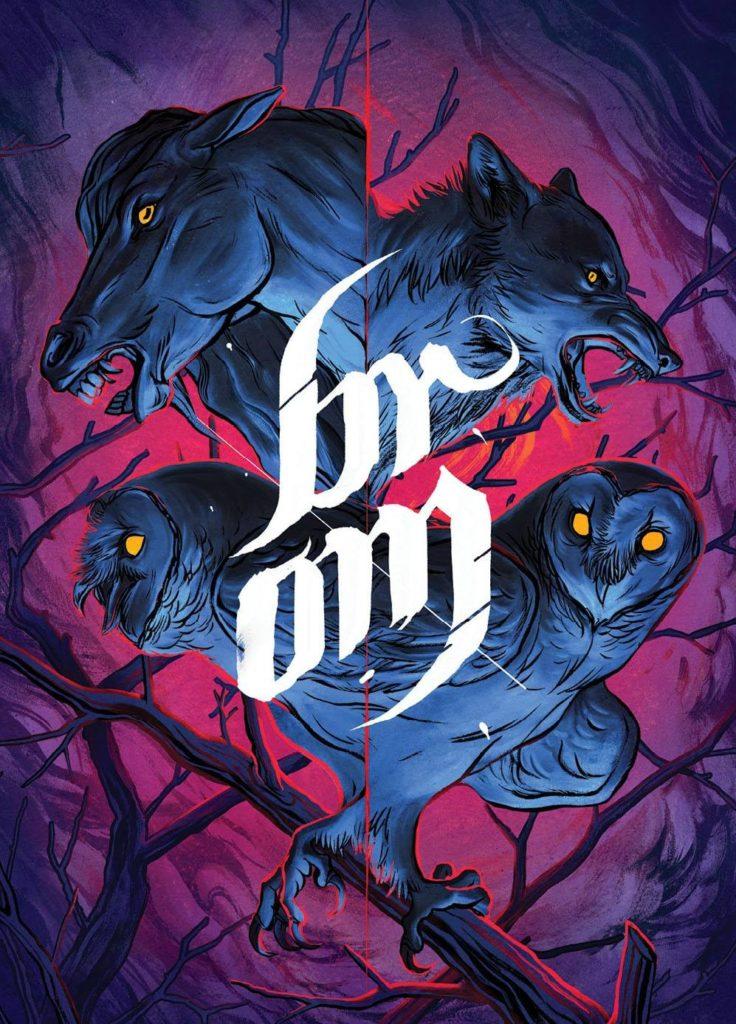 Brom - okładka komiksu