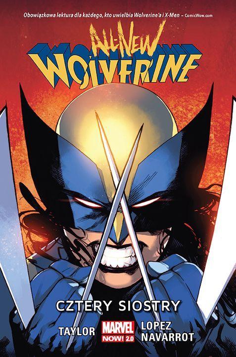 All-New Wolverine. Cztery siostry - okładka
