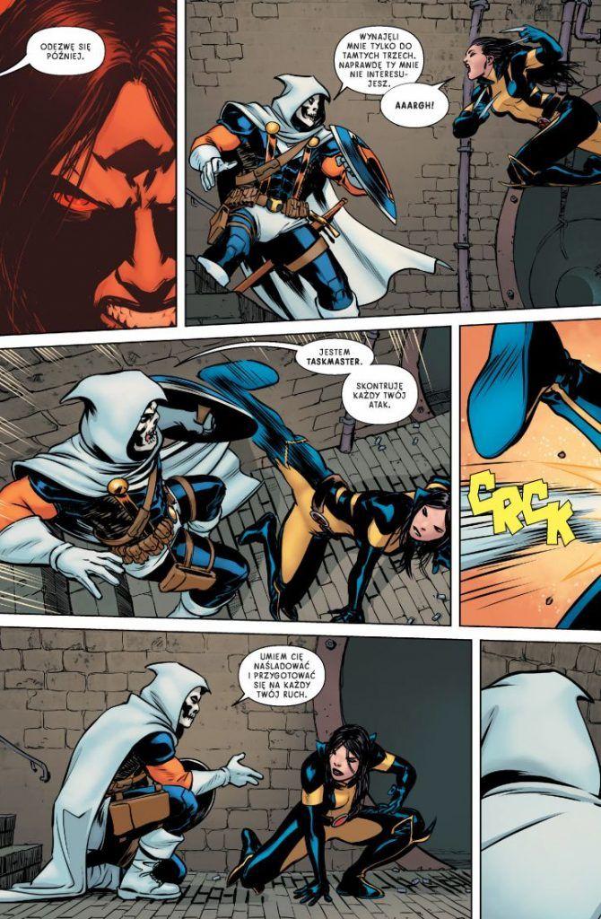 All-New Wolverine. Cztery siostry - przykładowa plansza