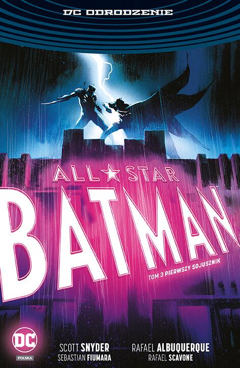 DC Odrodzenie. All-Star Batman – Pierwszy sojusznik, tom 3