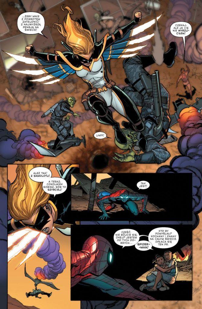 Amazing Spider-Man- Globalna sieć. Wrogie przejęcie. Tom 1 - przykładowa plansza