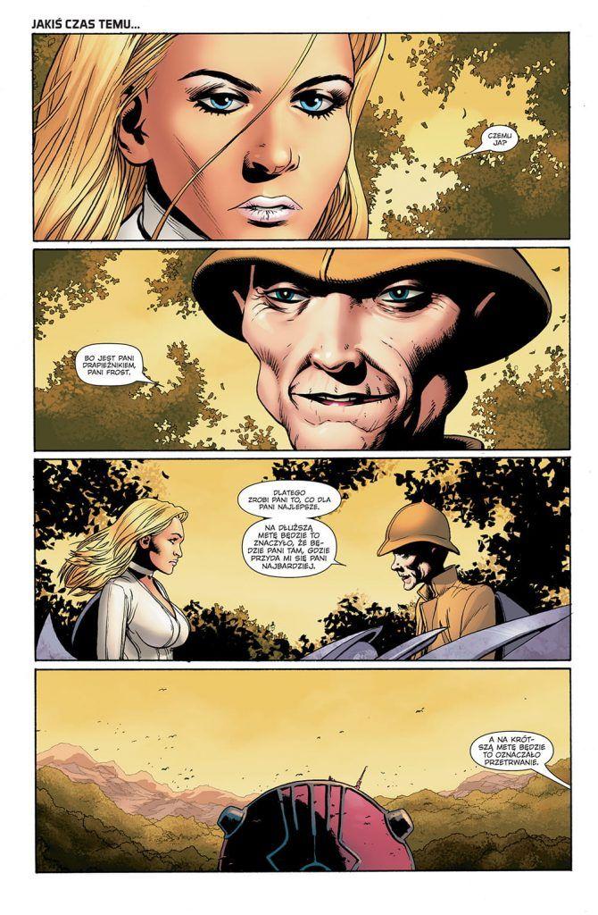 """""""Astonishing X-Men 2"""" - przykładowa strona"""