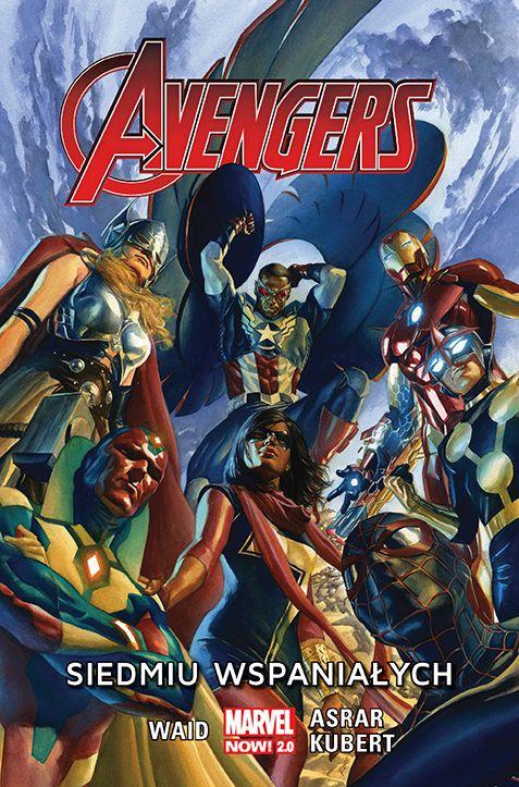 Avengers. Siedmiu wspaniałych - okładka