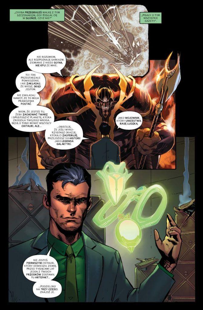 Avengers. Siedmiu wspaniałych - przykładowa plansza