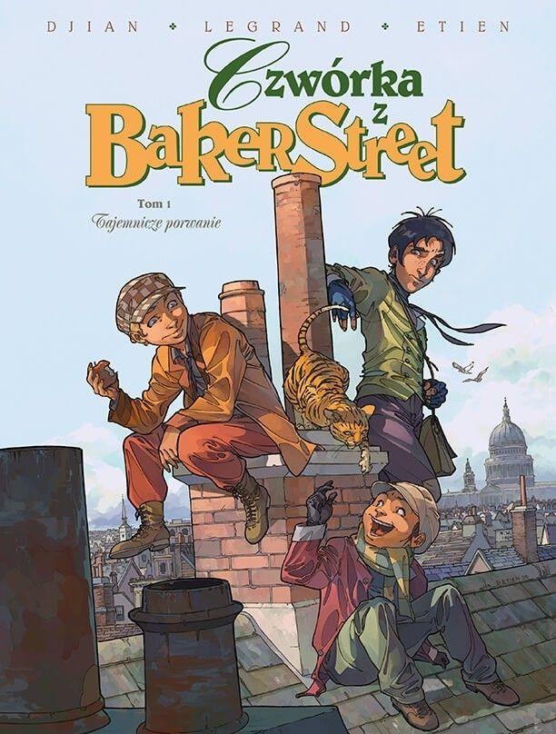 Czwórka z Baker Street. Tajemnicze porwanie, tom 1