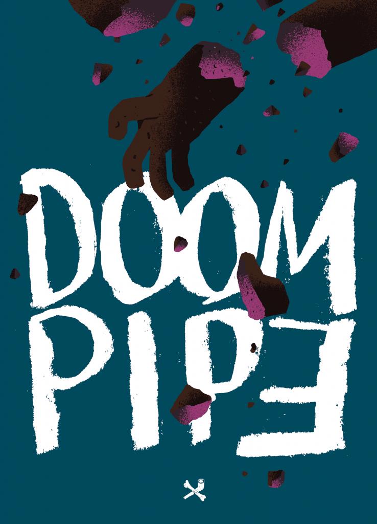 Doom Pipe - okładka 2 zeszytu