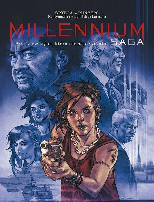 Millenium. Saga – Dziewczyna, która nie odpuszczała, tom 3