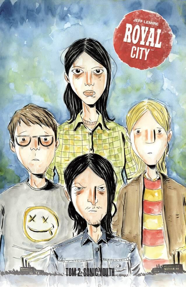 Royal City tom 2 - okładka