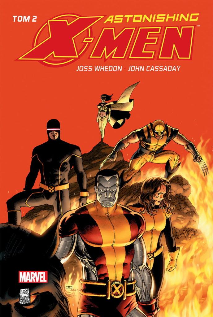 """""""Astonishing X-Men 2"""" - okładka"""