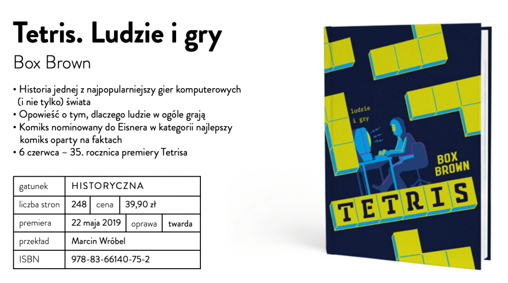 Wydawnictwo Marginesy - Tetris. Ludzie i gry