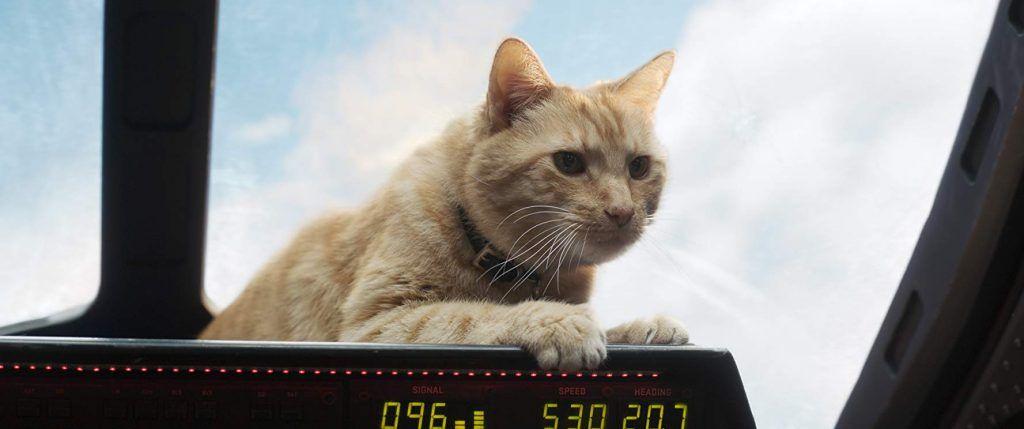 Kapitan Marvel - ujęcie z filmu