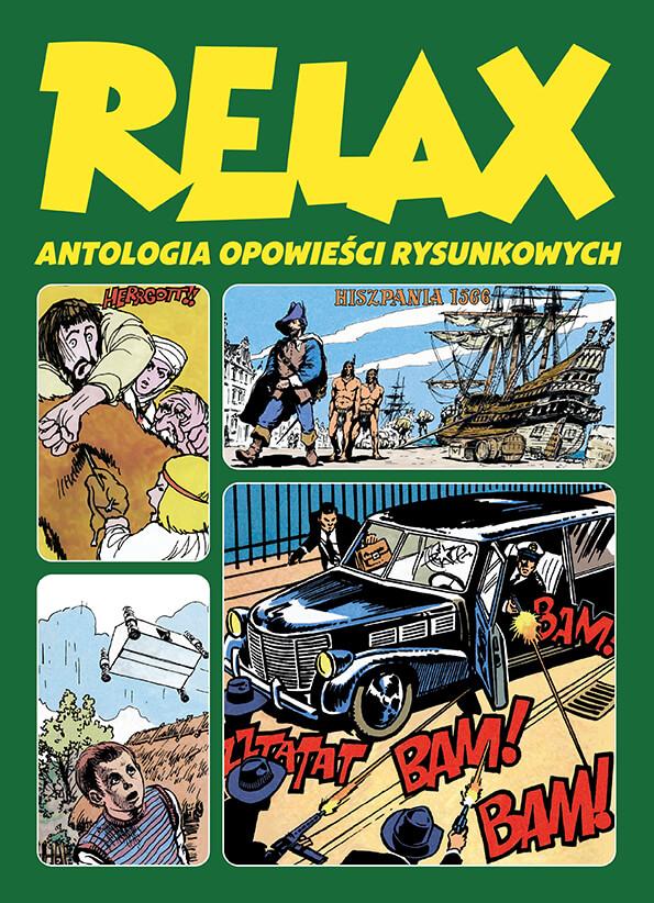 Relax. Antologia opowieści rysunkowych - tom 3