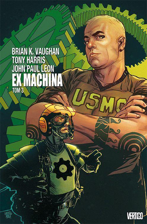 Ex Machina Tom 3 - Okładka