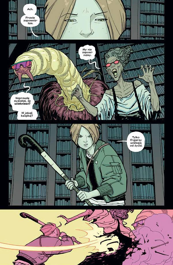 Paper Girls 5 - rys. Cliff Chiang